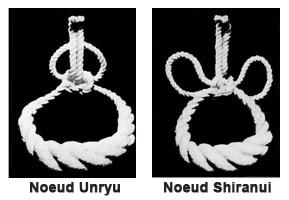 Types de nœuds pour la tsuna de yokozuna