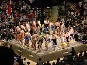 cérémonies makuuchi dohyô-iri